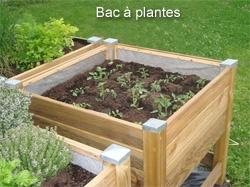 Bac à jardiner