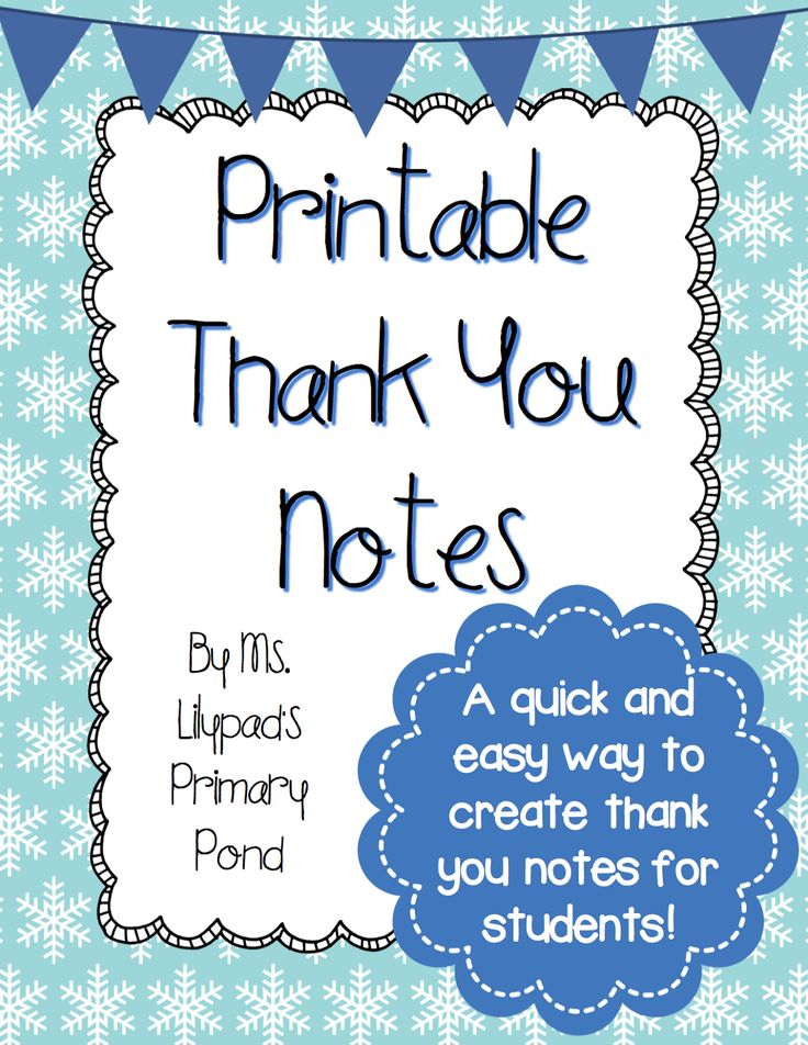 36 Best Thank You Notes Images On Pinterest | Thank You Notes