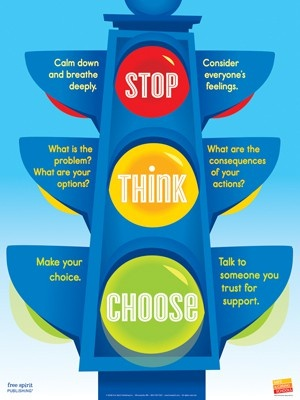 stop, think, choose for impulsive kids. Repinnedby SOS Inc. Resources @Rebecca Porter Inc. Resources.