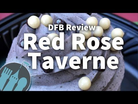 (1) Review: Red Rose Taverne - Beauty and the Beast Restaurant in Disneyland! - YouTube