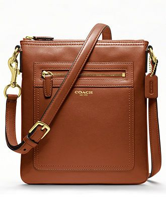 COACH LEGACY LEATHER SWINGPACK - Crossbody & Messenger Bags - Handbags & Accessories - Macy's