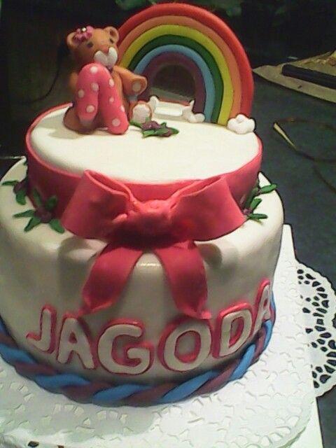 Jagodowy tort dla Jagódki