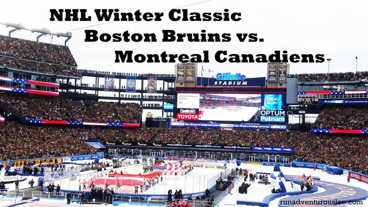 Yesterday, the Boston Bruins faced the Montreal Canadiens in the NHL Winter Classic. This year the NHL Winter Classic was held at Gillette Stadium in Foxborough, Massachusetts - home to the New En...