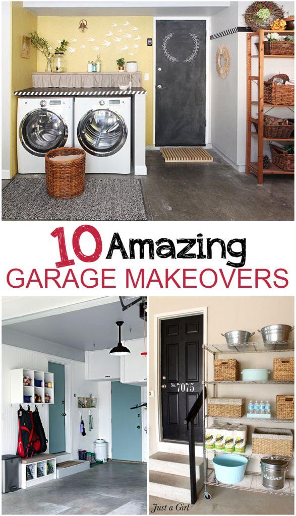 10 Amazing Garage Makeovers Best 127 Home
