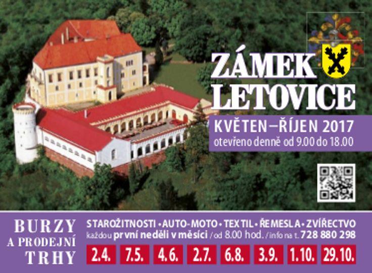 Burza a zámecké trhy   Zámek Letovice