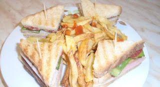 Σπιτικό κλαμπ σάντουιτς!