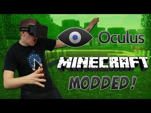 Minecraft Oculus Rift Mod! (Minecrift  Gameplay) #vr #virtualreality #virtual reality