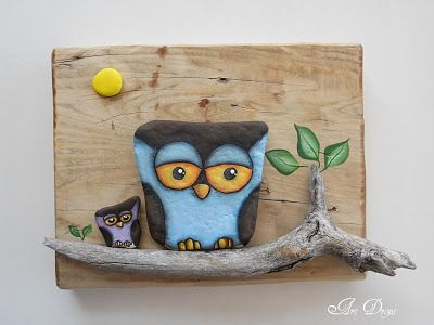 Art Drops: ROCK ME OWL