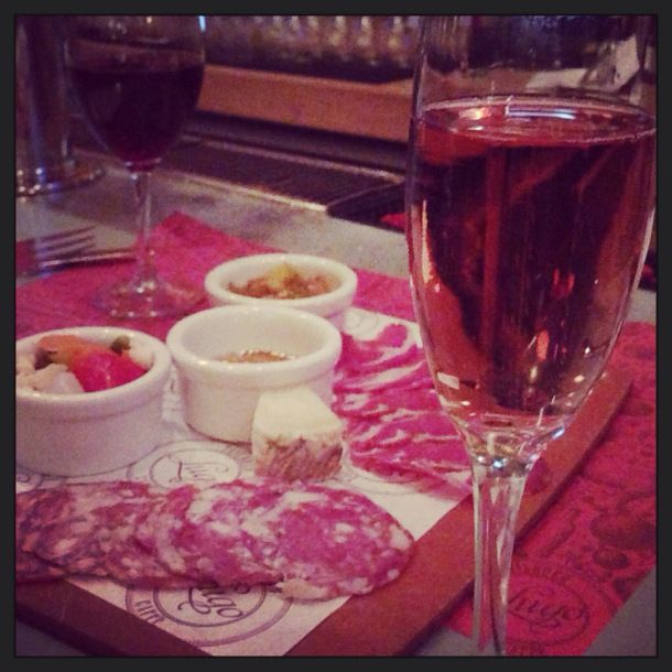National Drink Wine Day! It's the holiday we'll be celebrating for 364 days. Let's get started with sparkling rosato!