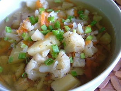 Smak Zdrowia: Zupa kalafiorowa
