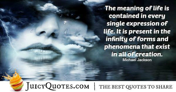 Michael Jackson Quote - 2