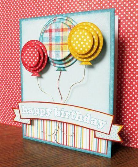 Сделать открытку с воздушными шарами, открытки машей
