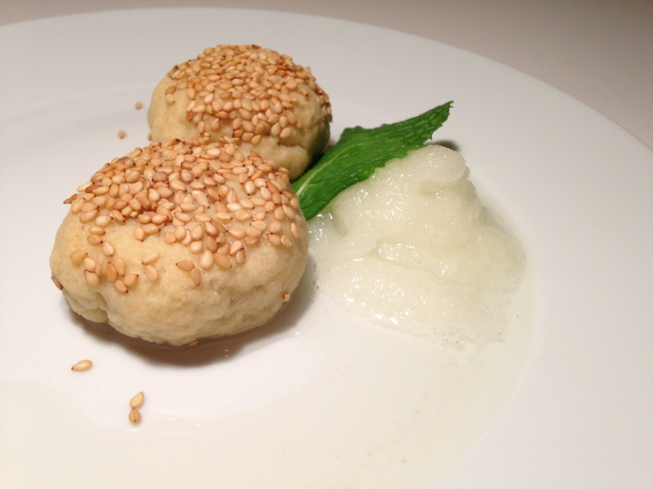 ... : mark godwin - PRESSURE; absinthe cookies with lemon mint sorbet