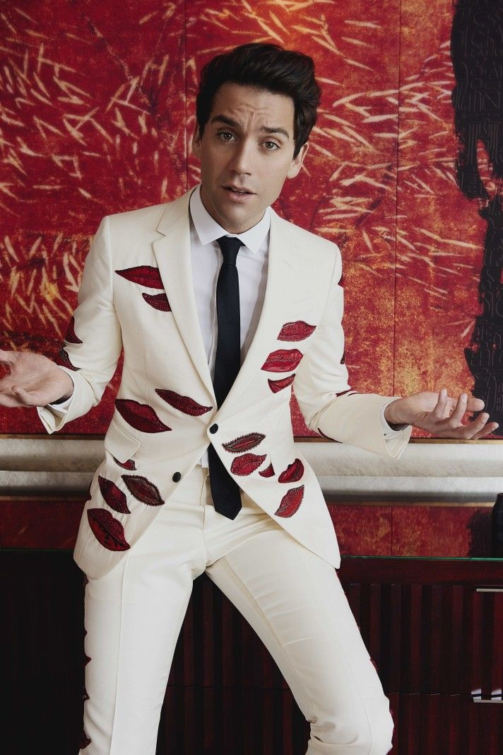Mika dons a custom suiting look from Valentino for his Prestige Hong Kong photo shoot.