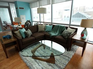 Turquoise And Brown Living Room Design Inspiring On Living Room Design  Inspirational