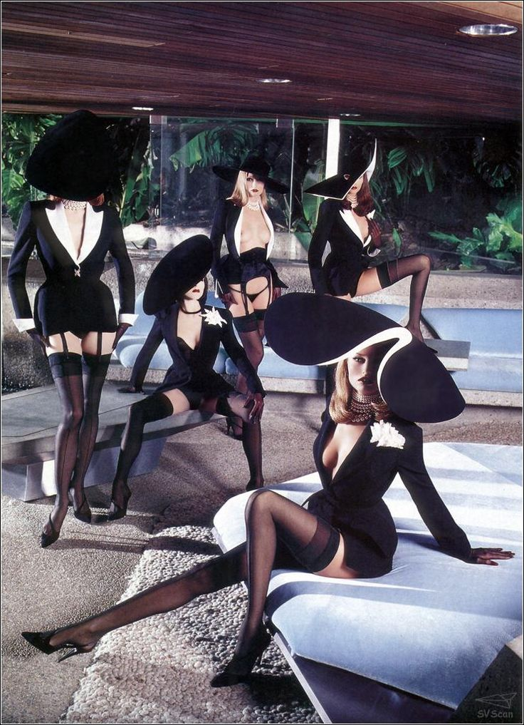 "helmutnewtonphoto: ""  1999 Jerry Hall - Thierry Mugler For Playboy. """