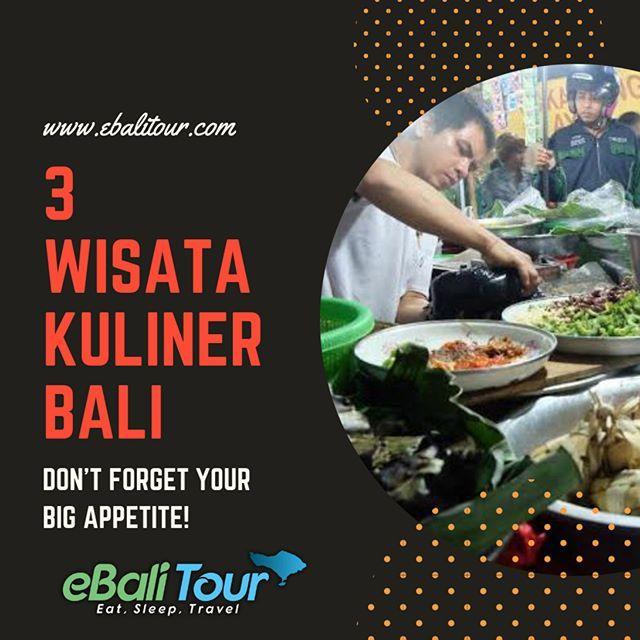 Tidak Hanya Wisata Alam Yang Indah Ternyata Tak Lengkap Jika Tak Dibarengi Dengan Wisata Kuliner Di Bali Selain Rasa Rempah Rempah Big Appetite Instagram Bali