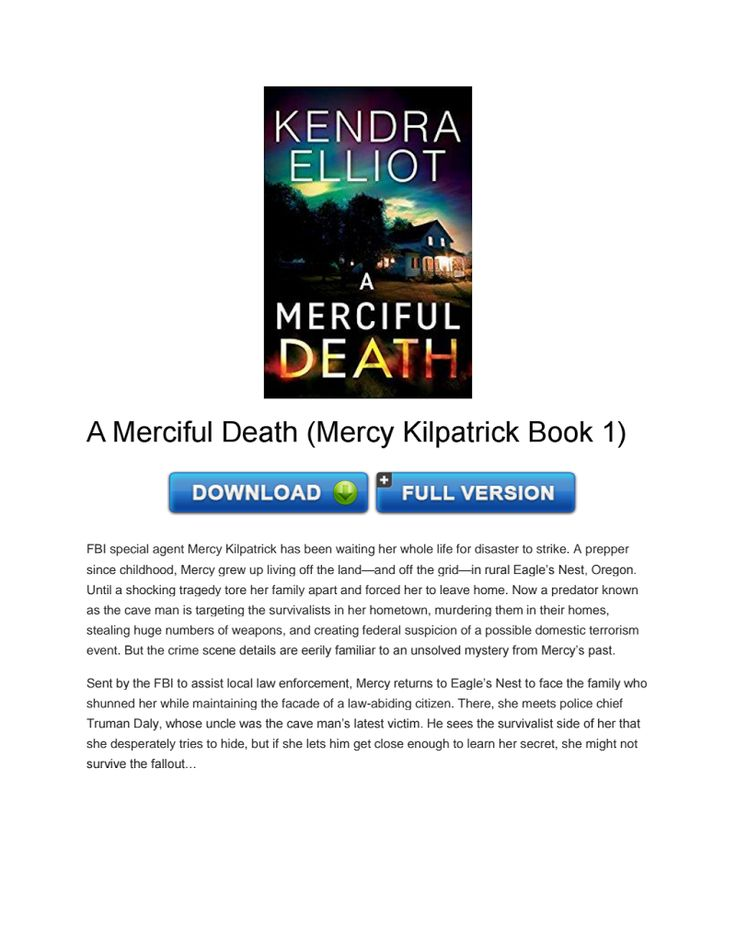 Download A Merciful Death (Mercy Kilpatrick Book 1) PDF