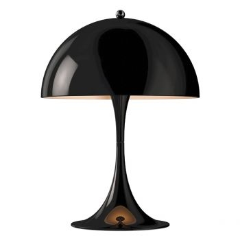 Louis Poulsen's Panthella Mini table lamp, black