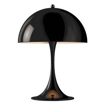 Louis Poulsen's Panthella Mini table lamp, black