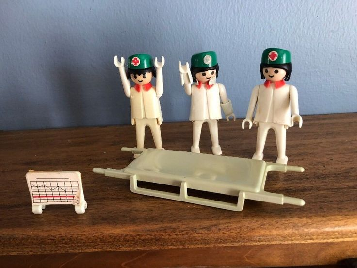 Play mobile Medical Team With Stretcher  | eBay