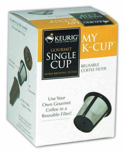 Finally!      Keurig My K-Cup Reusable Coffee Filter