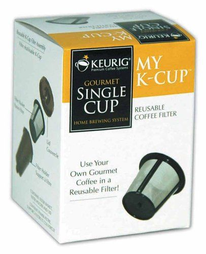 Finally!      Keurig My K-Cup Reusable Coffee Filter