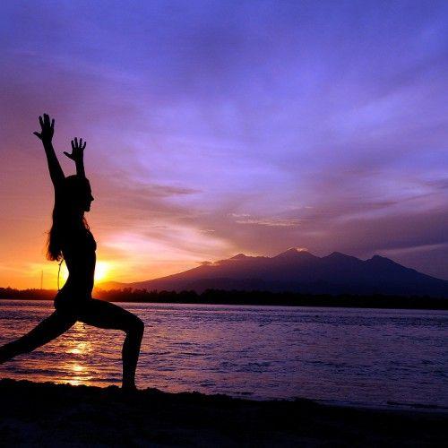 Yoga and freedive at Gili