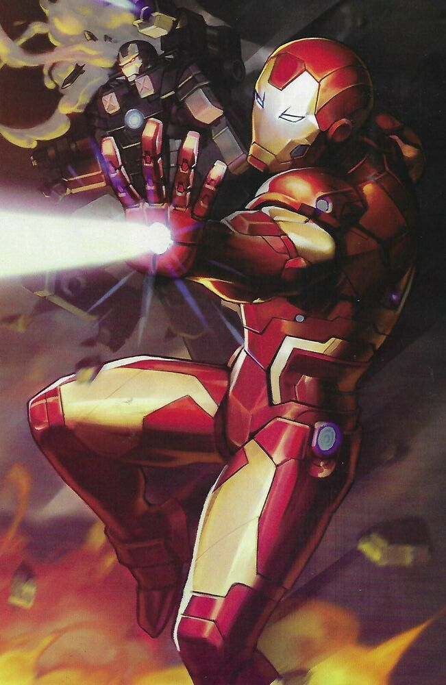 Iron Man Comic Issue 12 Tony Stark Limited Battle Lines Variant Modern Age 2019 Marvel Iron Man Comic Iron Man