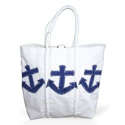 Recycled sail cloth tote from Sea Bags