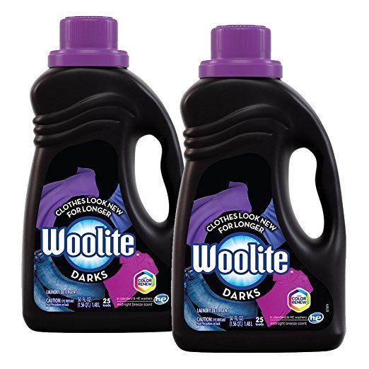 Woolite Darks Liquid Laundry Detergent 100oz 2x50oz With Color