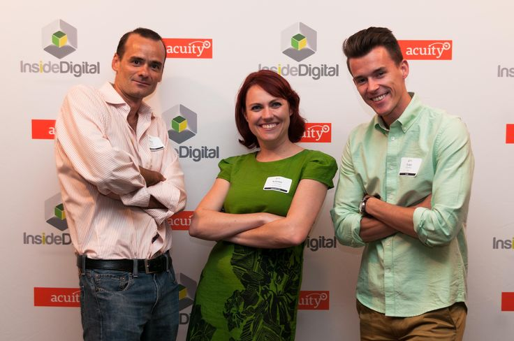 OneStory cofounder Katrina German lookin' good in Toronto at the InsideDigital event 2014