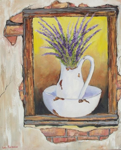 Buy Violet in the Window (760mm x 590mm x 35mm)for R3,300.00