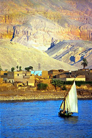 Maybe not today, but one day I would like to sail the Nile..EGYPT.