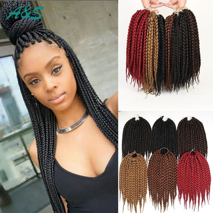Full Head Crochet Box Braids : = full head ombre braiding hair soft locs box braids ombre braiding ...