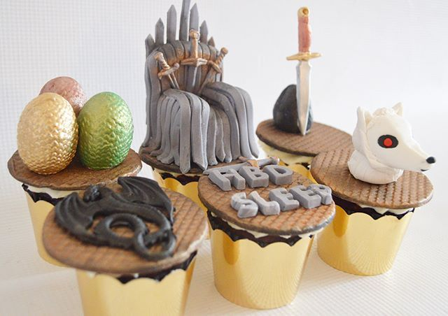 Magdeline S Cakes On Instagram Game Of Thrones Cupcakes