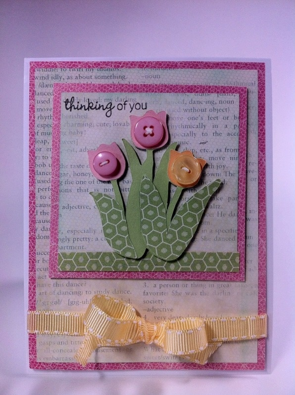 92 best card making thinking about you images on pinterest courtney lane designs thinking of you tulip card made using the spring cottage cartridge publicscrutiny Image collections