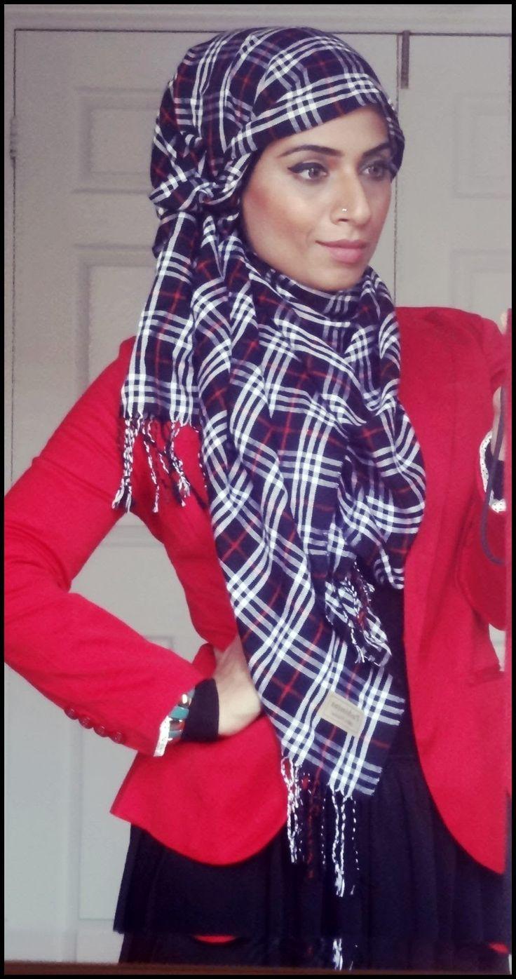 Hijab Tutorial Side Flip #39