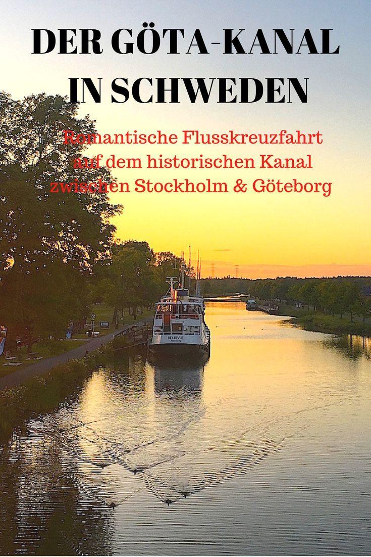 Schweden – Flusskreuzfahrt auf dem Göta Kanal