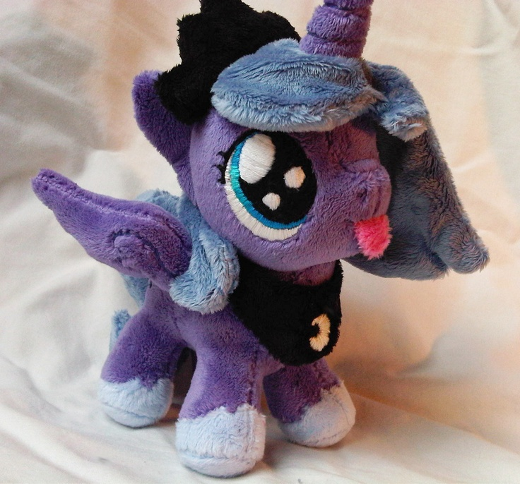 (My Little Pony Friendship is Magic Custom Handmade Plush   eBay) I think my cuteness metre is broken. Again.