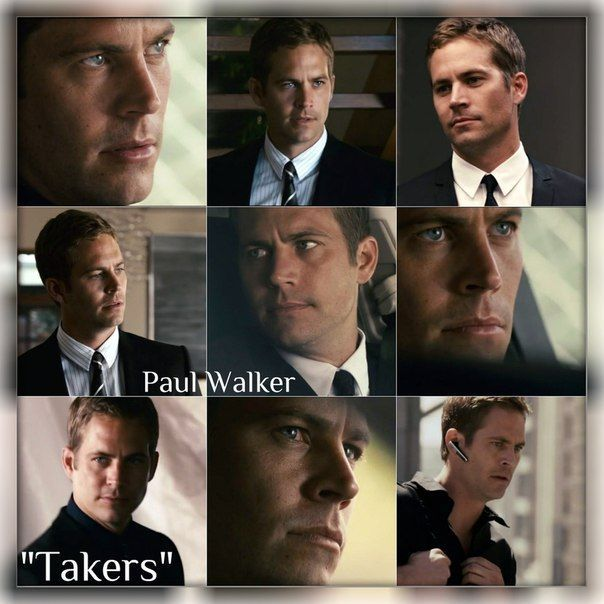 Paul Walker - Takers | Paul Walker/Brian O'Conner | Pinterest