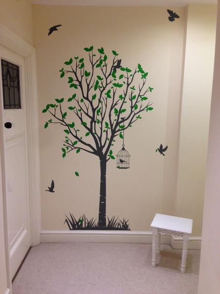Life Size Tree Wall Sticker