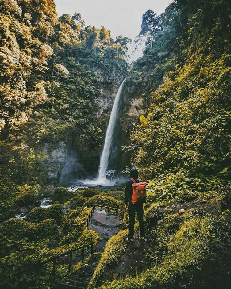 Moody vibes at Coban Pelangi Waterfall, Malang, East Java, Indonesia   Photo by: IG @taajud