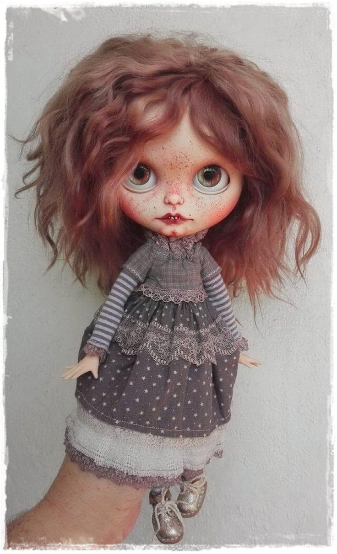 SELVAYA Real girl Blythe custom doll by Antique Shop Dolls