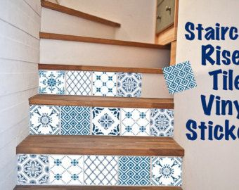 25 best ideas about stickers carrelage sur pinterest stickers pour carrelage stickers - Sticker pour contremarche escalier ...