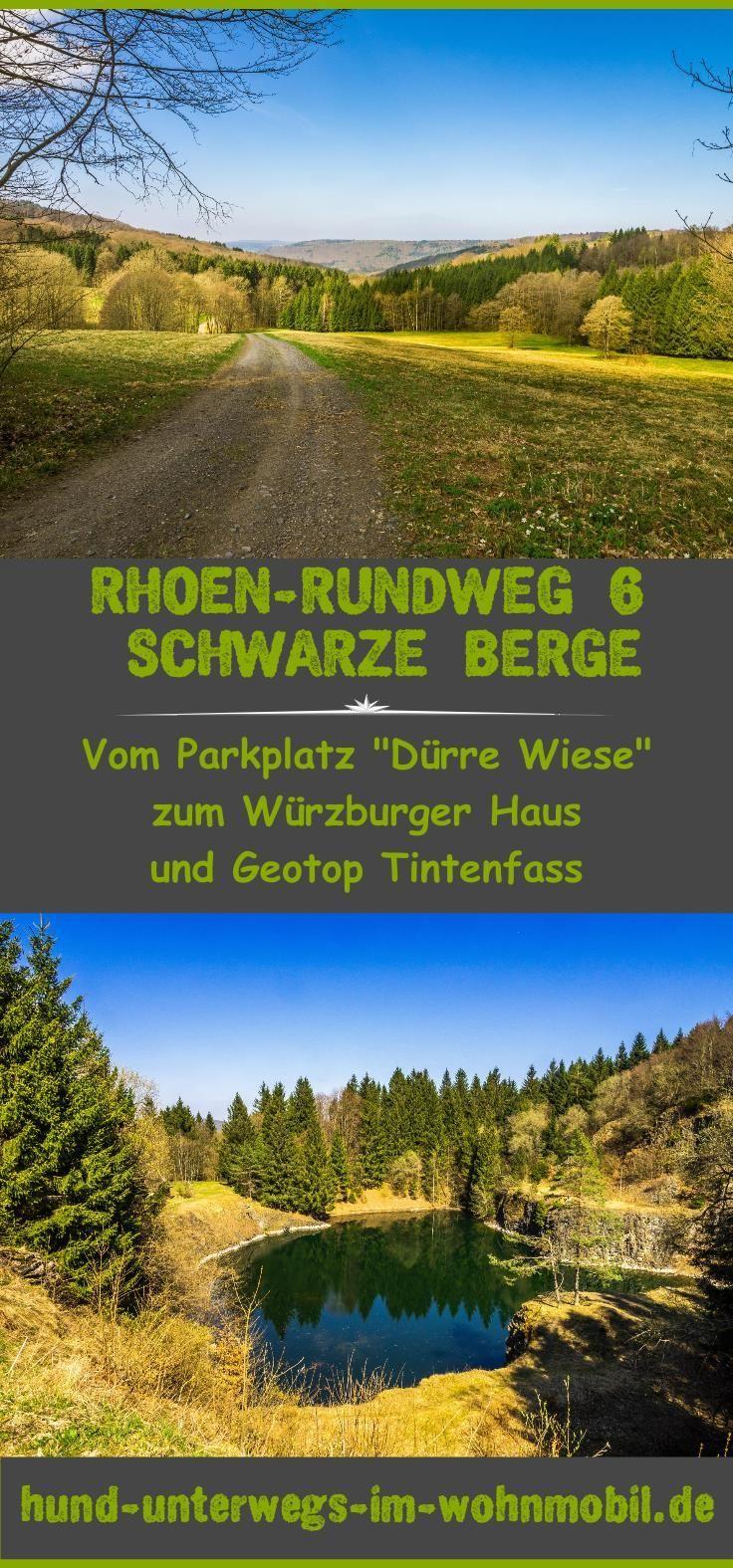 Rhön-Rundweg 6 Schwarze Berge. Aussichtsreiche Wanderung in toller Landschaft in der Rhön.