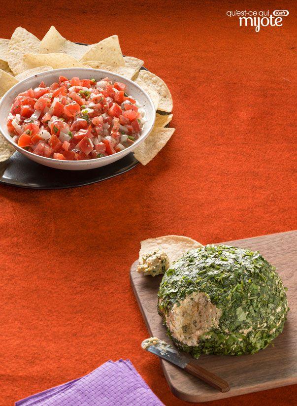 Boule de fromage au piment jalapeno #recette