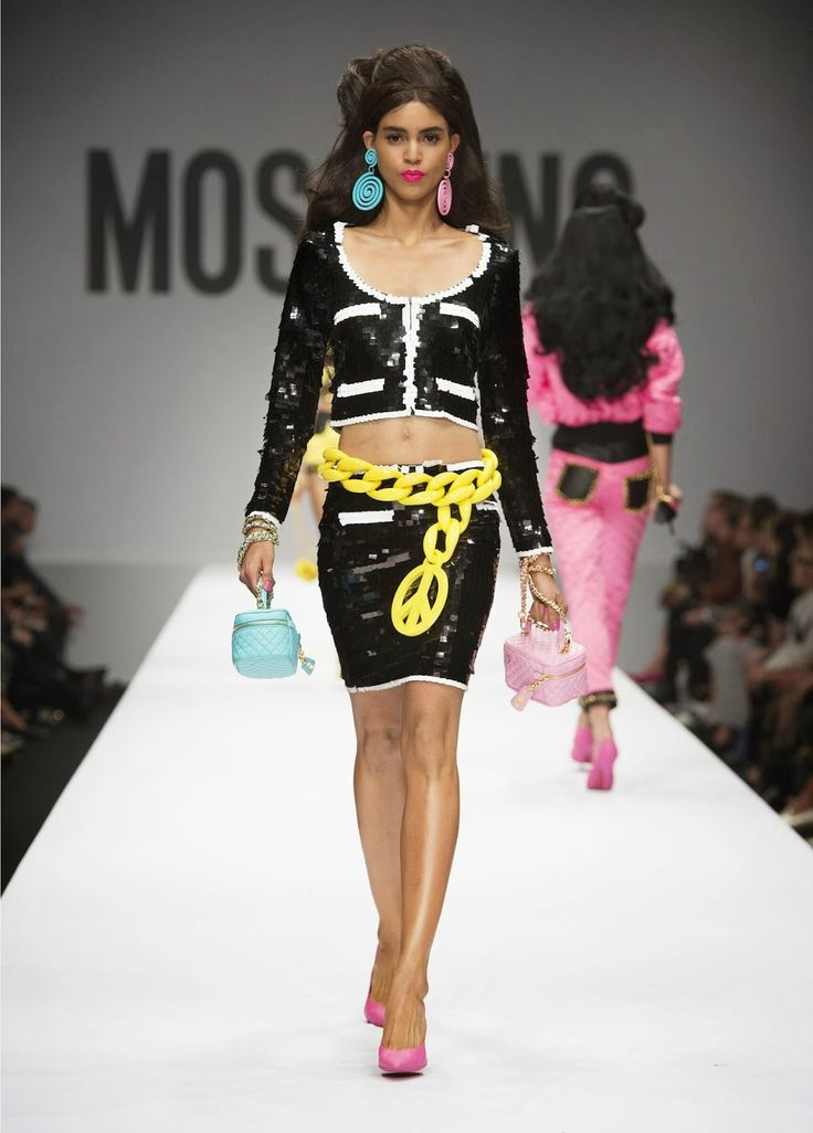 Moschino Spring/Summer 2015 Barbie Theme Capsule Collection ~ Glowlicious