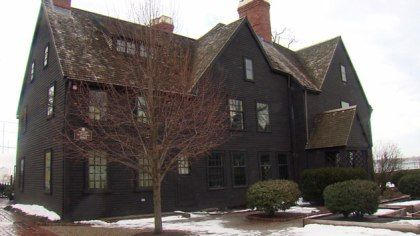 The House of the Seven Gables in Salem (WBZ-TV)