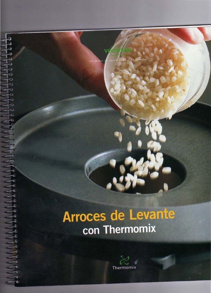 Arroces de levante con thermomix ocr